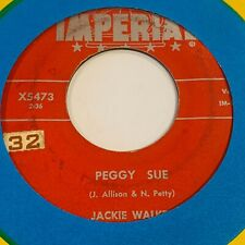 JACKIE WALKER: Peggy Sue / Wonderful One US Imperial Rockabilly 45 sol VG