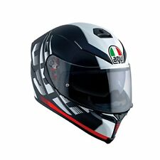 Agv K-5 S Darkstorm Matt Black Red Casco K5 Sz ml 58 Visiera Pinlok