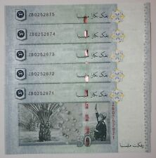 (PL) RM 50 ZB 0252871-75 UNC 1 ZERO MALAYSIA ZETI LOW NUMBER REPLACEMENT NOTE