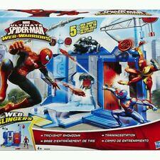 Brand New Licensed Ultimate Spider-Man Web Warriors Trickshot Showdown Playset