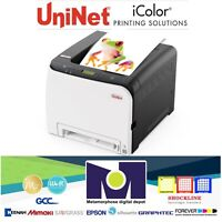UNINET iColor 350 A4/Letter Size Toner-Based Dye Sublimation Transfer Printer
