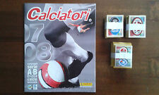 ALBUM CALCIATORI PANINI 2007-08 VUOTO+SET COMPLETO FIGURINE NO AGGIORNAMENTI