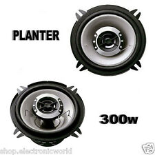 coppia altoparlanti audio casse auto 13 cm 300w suono hd planter 130mm 2 vie