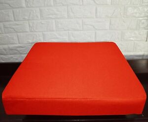 PL19t Bright Orange Specialist Water Proof Outdoor Box Seat Cushion Cover*Custom