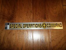 U.S Military Air Force Special Operations Command Window Decal Sticker 15.25 X 2