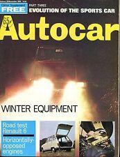 Autocar Magazine November 20 1969 Winter Equipment VG No ML 040417nonjhe