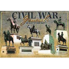 GETTYSBURG PENNSYLVANIA / CIVIL WAR POSTCARD LOT OF 50 NO DUPLICATES NEW