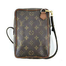 Authentic Louis Vuitton Monogram Vintage Danube Shoulder Bag - Made in France