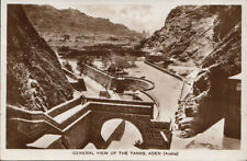 Yemen Postcard - General View of The Tanks, Aden  RS4363