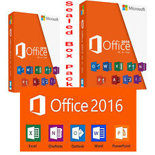 Microsoft Office Professional 2016  Genuine Sealed box  DVD key in box by post