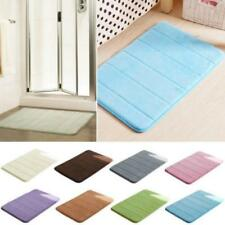 Bathroom Absorbent Soft Memory Foam Bath Bedroom Floor Mat Shower Rug G