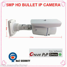 High Definition Full HD motion detect PoE ONVIF1920P waterproof IR 5mp IP Camera