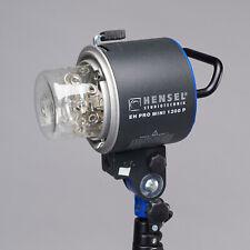 Hensel EH Pro Mini 1200 P Porty Studio Lighting Flash Head