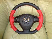 Sportlenkrad Lederlenkrad + Airbag Mazda RX8 Unten Abgeflacht INDIVIDUAL TUNING