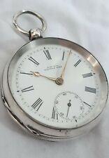 Waltham Gents Pocket watch Solid Silver 7J. (FULL WORKING ORDER) *1900*