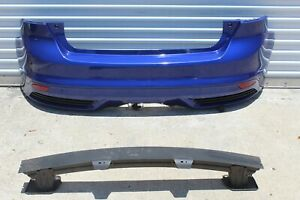 2013 2014 Ford Focus ST st3 complete rear bumper w/brackets and absorber blue