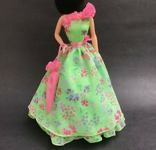 Southern Floral Organza Sun Dress Fashion for Barbie Doll