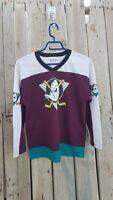 Off the Bench NHL Paul Kariya #9 Anaheim Mighty Ducks Hockey Jersey size L