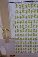 "Crystal Bay Frog Prince 100% Vinyl Shower Curtain 70"" x 72"" NIP"