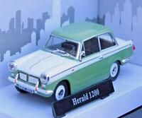 TRIUMPH HERALD 1200 1:43 Scale Car Model Die Cast Metal Miniature Toy Green
