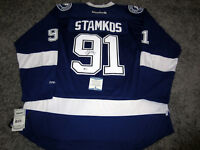 9e56d5f45 STEVEN STAMKOS Tampa Bay Lightning SIGNED Autographed JERSEY w  BAS COA XXL