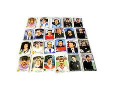 SUPERCALCIO panini 1985 / 86 lotto 24 figurine allenatori arbitri