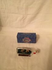 collectable boat in a bottle/glass with box, good condition