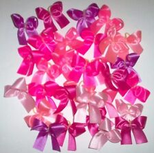 Dog Grooming Bows 30 small all Pink Solid Color Dog Bows Yorkie Shih tzu Maltese