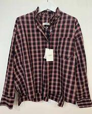BNWT Isabel Marant Etoile Olena Shirt Check Size FR34