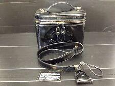 "Auth Chanel CC Logos Cosmetic Case 2 way Shoulder Hand Bag 6J040070N"""