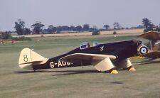 Original 35mm Aircraft slide Miles M.2L Hawk Speed Six #54