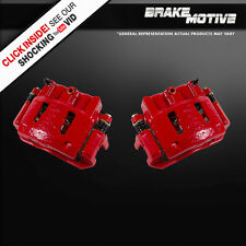 Front Red Powder Coated Performance Brake Calipers 1995 - 2000 FORD RANGER RWD