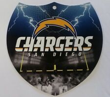 "San Diego Chargers InterState Sign - Shield Style Plastic Sign NEW! 8"" x 8"""