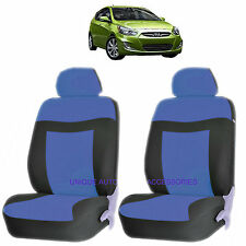 BLUE ELEGANCE AIRBAG COMPATIBLE LOWBACK SEAT COVERS SET FOR ELANTRA ACCENT