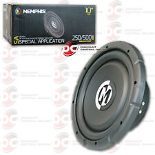 "BRAND NEW MEMPHIS 10"" DUAL 4-OHM CAR AUDIO DVC SUBWOOFER 500 WATTS MAX"