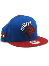 New Era Ultimate Spider-Man 9fifty Snapback Hat Thwip! Marvel Comic Blue Red NWT