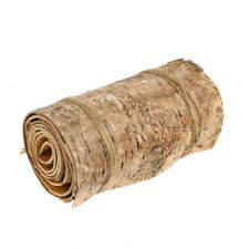 Natural Birch Bark Continuous Roll 120cm Long x 15cm Wide
