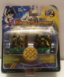 Hasbro Duel Masters Mini Action Figures FEAR FANG And GIGAMANTIS  NEW IN PACKAGE
