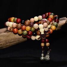 Bracelet Mala Bouddhiste en Bois de Santal 108 perles