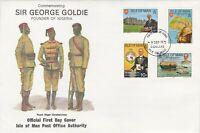 GBP120) FDC GB Isle of Man, 1975, Commemorating Sir George Goldie Founder of Nig