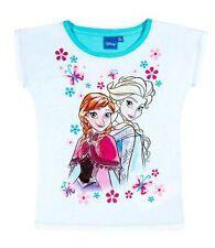 Niñas Camiseta de manga corta top Disney Frozen LA REINA HIELO 98 104 116 128