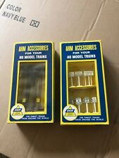 Vintage AHM HO Accessories Telephone Poles & Traffic sign New Old Stock Unopened