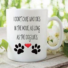 Mug Fantaisie Drôle Humour Adulte Dog Lives Film Céramique Tasse à Thé WSDMUG60