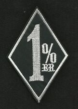 1%ER MC OUTLAW ONE PERCENTER MOTORCYCLE BIKER PATCH