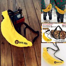 BAPE A BATHING APE Kids Banana Bag Zipper Milo Purse Baby Sling Shoulder Bag Hot