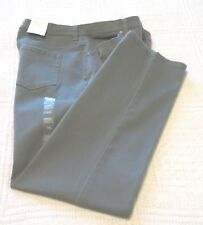 Womens Style & Co. Gray Tapered Leg Tummy Control Jeans, 14 Short, NWT