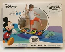 Disney Mickey Mouse Music Mat Interactive Floor Piano Electronic Toy