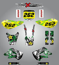Kawasaki KX 65 / 2000 - 2015 full custom graphics kit Grafiti style / stickers
