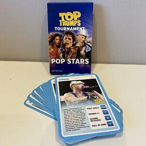 30 Music Top Trump Cards Eminem Michael Jackson Rihanna U2 Elvis Nirvana Britney