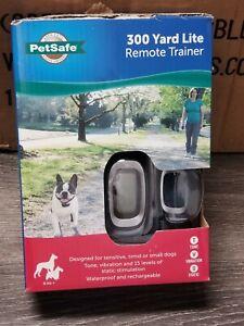 NEW Petsafe 300 Yard Lite Remote Trainer for Smaller Sensitive Dogs PDT00-16024